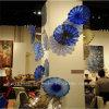De blauwe Schotel van de Ambacht van het Glas van de Decoratie van de Muur voor Huis