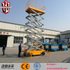 o móbil hidráulico do equipamento de levantamento 10m Scissor o elevador da fábrica