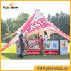 Événement extérieur annonçant la tente simple d'étoile de Pôle de promotion