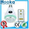 Bulbo recarregável Emergency do diodo emissor de luz do diodo emissor de luz do material 12 do ABS Mba01301 com controlo a distância