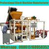 Máquina Semi automática do bloco de Qt4-24 Habiterra