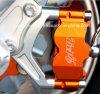 CNC Machining Aluminum Motorcycle Parte con il laser Engraved e Anodized