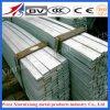 Barra plana de acero inoxidable de ASTM 304