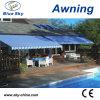 Toile de balcon rétractable poly tissé (B2100)