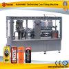 Machine recouvrante remplissante automatique de bidon en aluminium