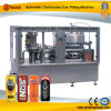 Máquina que capsula de relleno automática de la poder de aluminio