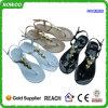 Sandalias Abrir-Tocadas con la punta del pie PVC más baratas del plástico de la venta caliente (RW26200A)