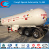 高圧Gas Tube Semi Trailer 3 Axle Highquality 100m3 Pressure Vessel LPG Tank Safety LPG Tanker