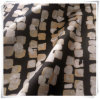 100% простирание сатинировки полиэфира шифоновое, печатание ткани шотландки для платьев женщин