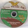 4.5 de '' Gedeprimeerde Dunne Scherpe Schijf van het Centrum voor Inox 105X1.0X16