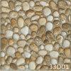 屋外の庭(300X300mm)のための陶磁器の玉石を敷かれた石造りの床タイル