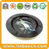 ブリキの昇進の記念品のギフトのための円形の金属の錫の灰皿
