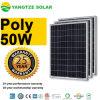 25 ans de garantie du GS 12volt 50watt 60W de prix de panneau solaire