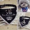 Bandana personalizzato del cane del commercio all'ingrosso del triangolo di marchio per il regalo promozionale