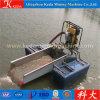 Installatie van de Was van de Baggermachine van de Goudwinning van het Zand van de rivier de Mini voor Verkoop