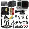 Edición de plata original caliente toda de Gopro Hero4 usted necesita la cámara impermeable de la acción del FAVORABLE deporte del kit