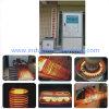 Equipo caliente de frecuencia media de la forja de la calefacción de inducción de la barra de acero 200kw