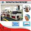 Automatische chirurgische nichtgewebte Bouffant Krankenschwester-Wegwerfplastikschutzkappe, die Maschine herstellt