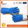 Gant bleu de PVC de circuit de Ddsafety 2017