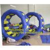 L'eau gonflable géante joue le flottement gonflable de roue d'eau