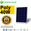 el panel solar de 12V 40W policristalino