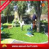 Decoración artificial del césped de la fuente del fabricante y decoración sintetizada de la hierba