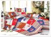 Folha sem redução poli/do algodão alta qualidade do laço da HOME de matéria têxtil de base