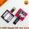 선물 (YT-3118)를 위한 주문 로고 사각 카드 USB 섬광 드라이브