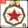 Medaglia su ordinazione speciale del metallo del premio di onore per lo sport