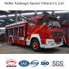 7ton Vrachtwagen Euro3 van de Brand van het Water van het Schuim van het Poeder van HOWO de Droge