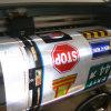 Impression r3fléchissante de drapeau de vinyle de qualité polychrome