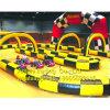 La pista que compite con inflable se divierte el juego para la pista que compite con de la bola de Zorb de los coches de parachoques