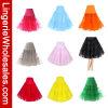 Falda del soplo del color sólido de nueve mujeres de los colores