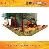 de 127mm Gegalvaniseerde Post Kleurrijke Natuurlijke Apparatuur van de Speelplaats van de Kinderen van de Reeks Openlucht