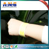 Wristbands de papel impermeables ajustables de RFID Tyvek para los conciertos