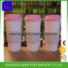 Tasse de café en plastique respectueuse de l'environnement procurable de l'aperçu gratuit 500ml 18oz