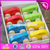 New Fashion Funny 8 Pieces Toddlers Small Wooden Cars W04A341