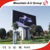Colore completo esterno P10 che fa pubblicità allo schermo di visualizzazione del LED del tabellone per le affissioni