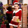 Новая горячая форма рождества типа для девушки партии танцы сексуальной