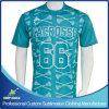 Camisa de deportes del lacrosse de la sublimación del muchacho de encargo de la impresión