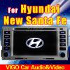 '' La navegación del GPS del reproductor de DVD del coche Ce6.2 para Hyundai Santa Fe 2006-2011 (VHS6223) cuchillos de cocina ramic fija (LBT-WC6)