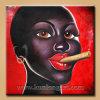 Pittura africana Handmade del ritratto delle donne (KLPP-0003)