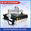 Router de cinzeladura de madeira automático do CNC 3D, máquina de estaca 3D, cabo 1325 do controlador do router do CNC Dsps