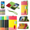 Мобильный телефон Case, New Hybrid Leather Wallet Flip Pouch Case Stand для Samsung Galaxy S4 Siv I9500