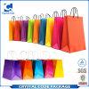 Bolso de compras de papel de encargo de la calidad directa de la fábrica