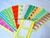 Documento ed etichette adesive stampate plastica