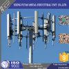 Stahlmonopole für Übertragungs-Zeile