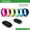 Bracelet de montre intelligent de bracelet de forme physique de sport de Bluetooth de mode