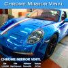 Película flexible del abrigo del coche del espejo brillante del cromo de la alta calidad