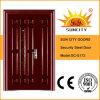 Trappes en acier décoratives de fer travaillé de porte (SC-S172)